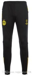 Wholesale Professional Football - 2017 New Reus GOTZE Professional Soccer Training Pants Slim Skinny Sports Survetement Football Running Pants Tracksuit Trousers Jogging Leg
