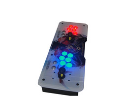 Wholesale Wholesale Arcade Buttons - The combination of blue and red LED Button version ,645 programs,HDMI out,home arcade upgrade edition.