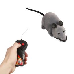 caméra spycam Promotion Détails sur Nouveau RC Wireless Simulatio Télécommande Rat Souris Jouet Pour Chat Chien Pet Nouveauté