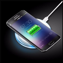 Wholesale Universal Portable Charger - Qi Standard Wireless Charger Portable Samsung Wireless Phone Charger for iphone 8 iphone x cheapest Cordless Phone Chargers 2018