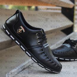 Wholesale Men S Business Leather Shoes - Men 's business casual shoes men' s English Korean men 's board shoes youth trend of a single shoe