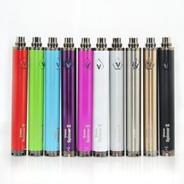 Wholesale E Vap - Variable voltage Vision Spinner 2 II vv vape battery e-cig spinner ii twist batteries Vapor vap retail box pack Shenzhen suppliers direct