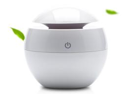 Wholesale oil mist - New arrival 130ML USB Ultrasonic Humidifier LED Aroma Diffuser Difusor De Aroma Essential Oil Diffuser Aromatherapy Mist Maker
