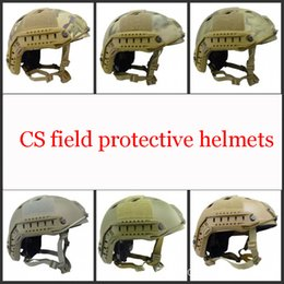 Wholesale Electric Kids Ride - FAST BJ standard solid tactical protective helmet outdoor riding fast response CS army fan equipment