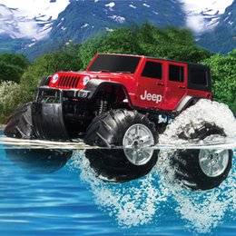 Wholesale Rc Model Off Road - Wholesale-XQ 40MHz Rc Climbing Remote Control Car 1 10 Electric Car Big Wheel RC Off-road Car Amphibious Vehicle Model Toy