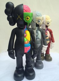 Wholesale fake model - 16inch Kaws Dissected Companion Kaws original fake Action Figure Classic Model Toys High Quality Free Shipping