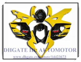 Wholesale Gsxr Black Yellow - Injection 100% brand new fairing kit fit for Suzuki GSXR 1000 2005 2006 GSXR1000 05 06 GSX-R1000 2005 2006 #TN839 YELLOW BLACK