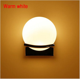 Wholesale Unique Wall Lamps - New arrival unique and novelty led wall lamps glass ball wall lights for home E27 AC90V-260V free shipping