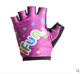 Wholesale Child Cycle Glove - Free shipping Breathable cycling wholesale children Sports Gloves
