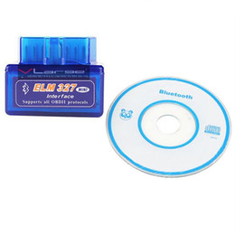 Wholesale Universal Diagnostic Tester For Cars - Universal OBD V2.1 ELM327 OBD2 Bluetooth Auto Scanner OBDII 2 Car ELM 327 Tester Diagnostic Tool for Android Windows by epacket YM0120