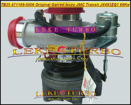 Garrett turbos online-Venta al por mayor Nueva TB25 471169-5006 Original GARRETT 471169-5006S 471169 5006 turbo Turbina para ISUZU para JMC Transit JX493ZQ1 68KW