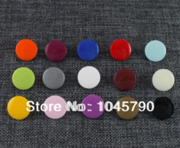 Wholesale Kam Diapers - Free Shipping 600 Sets Size 20 T5 KAM Resin Snap Buttons 15 Mixed Colors For Cloth Bib Diaper