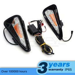 Wholesale Turn Signal Lights Toyota - High Quality Car-special LED Daytime Running Light with Turn Signal Yellow for TOYOTA CAMRY 2015 DRL D15