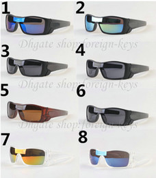 Wholesale Bicycle Adult - Free Ship fashion men' s women's Bicycle Glass sun glasses batwolf sunglasses High-quality sunglass NO cases.