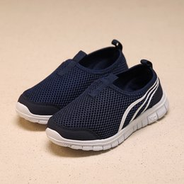 Wholesale Cute Kids Shoes Cheap - Hot Sale Fashion Children Athletic Shoes Boys Sneakers Girls Sport Shoes Child Casual Breathable Mesh Shoes Cheap Running Shoe for Cute Kids
