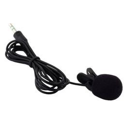 Wholesale Teaching Microphone Speaker - Wholesale- Mini Lapel Lavalier Tie Clip Metal Mono Microphone for Lound Speaker For Lectures Teaching Recording