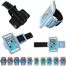 Wholesale Custom S4 Cases - Custom Logo For Iphone 6 6S Samsung S3 S4 And Any Low Than 4.7 Inch Phones Armband Waterproof Sports Running Case bag Workout Holder