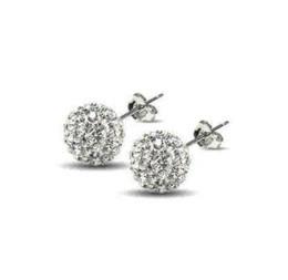 Wholesale Cheap Cubic Zirconia Earrings - Cheap Beautiful 925 sterling silve stud earrings for women Shambhala High quality earrings Cheap earring type