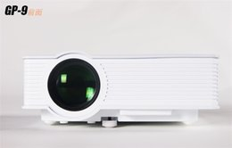 Wholesale Micro Projector Lcd - GP - 9   H909 micro double USB HDMI for the LED light source, high brightness projector AV SD card