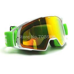 Wholesale Motorcycle Motocross Bike Cross - Free shipping Motorcycle Goggles Glasses Motocross googles Bike Cross Country Flexible Goggles Tinted UV