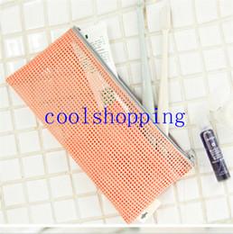 Wholesale Mesh Pouch Nylon Organizer - Travel Nylon Breast Milk Mesh Zipper Wallet Case Cosmetic Makeup Baby Mummy Bag Portable Storage Pouch Make Up Tool Organizer
