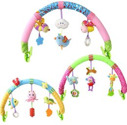 Wholesale Flying Toys Cars - Newborn Baby Stroller Car Clip Hanging Seat & Stroller Toys Ocean Forest Sky Flying Animal mobile Rattle toy