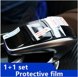 Wholesale Car Mice Control - Center Control Handwriting Mouse Protective Film For Mercedes Benz E class W213 E200 300 2016 2017 Car Body Protection Stickers