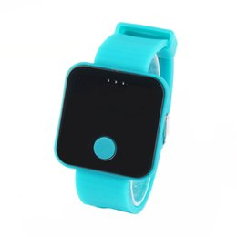 Wholesale Screen Color Squares - Free shipping Colorful sports watch jelly color series LED touch screen watch children fashion electronic fashion
