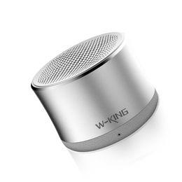 Wholesale portable mini speakers apple - Wholesale- Ktab Bluetooth Speaker Portable Mini with Mic FM Radio Enhanced Bass Micro SD Card Support 4W for iPhone 7 iPad Samsung Xiaomi