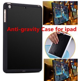 Wholesale Gravity Accessories - Anti-gravity Case For IPAD mini 2 3 Hybrid PC+TPU Magical Nano Stick On The Wall Back Cover Case For ipad mini4 ipad5 6 ipad pro 9.7