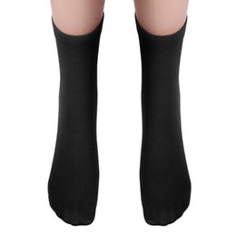 Wholesale Calcetines Bamboo - Wholesale- Socks Men Breathable Summer bamboo sokken Soft Comfortable meias Solid color Socks calcetines hombre coolmax casual