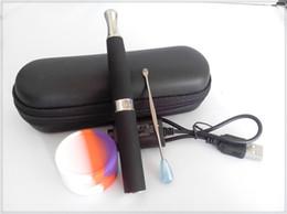 Wholesale Mini Ego Set - micro ego wax oil dab pen vaporizer e cigarette mini portable electronic cigarette M710 concentrate vaporizer pen good quality set