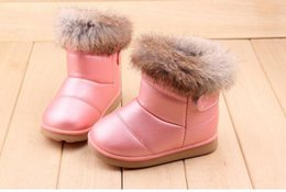 Wholesale 12 Year Old Girls Fashion - 2017 New Cute Pink Baby Girls Martin Boots for 1-6 Years Old Children Shoes Fashion Boots Kids Work Boots Hot 21-30