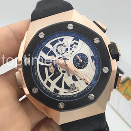 Wholesale Cheap Stainless Steel Belt - 2016 man brand new CONCEPT LAPTIMER cheap High quality skeleton quartz men watch luxury sports Mens Watches