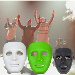 Wholesale Hip Hop Dance Masks - Hottest Sale Halloween Party Masks Hip-Hop Street Dancing Mask High Quality Jabbawockeez Mask Perform Show 50 Pieces