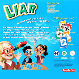 Wholesale Family Great - Wholesale- Liar Fibber Game Set Hilarious Noses & Glasses Stretch The Truth And Your Nose May Grow 2-4 Players Great Family Fun Toys