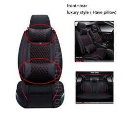 Wholesale Mitsubishi Lancer Sports Car - Special Car Seat Covers For Mitsubishi All Models ASX Lancer SPORT EX Zinger FORTIS Outlander Grandis car accessories styling