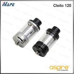 Aspirar tanques on-line-Aspire Cleito 120 Tank 100% Original 4ml Aspire Cleito 120 Atomizador com Cleito 120 Replacement Coil 0.16ohm