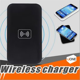 Wholesale Power Bank Qi Wireless - MC-02A Qi Standard Universal Charger Pad Wireless Power Bank Portable Transmitter Accessary For Samsung Galaxy S6 S7 Edge Iphone 8 Note 8