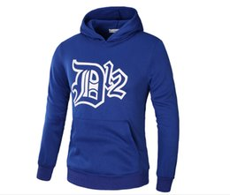 Wholesale black dk - New Spring Autumn Winter Eminem D12 Hedging Trend Hip Hop Sweatshirt Hoodie DotA DOTA2 Fleece Sweater DK Pullover Sweater