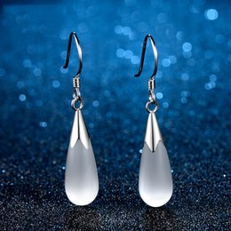 Wholesale Cheap Star Pendants - 2017 New 925 Sterling Silver stars Korea Opal earrings Ear Jewelry for women Fashion cheap Pendants Earrings Gifts for girls Free Shipping