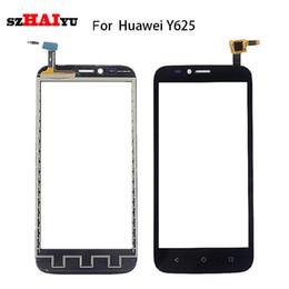 Huawei p8 numériseur en Ligne-Testé bon fonctionnement capteur pour Huawei Ascend Y511 Y520 Y560 Y625 G6 G7 écran tactile G730 P8 Lite - Assemblée Digitizer + Outils
