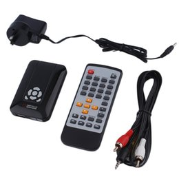 multi tv media player Promo Codes - 2016 New Full HD 1080p 3D Multi Media Player TV Video AV HDMI HD Media Box Remote Control Power Adapter AU EU US Plug