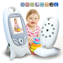 Wholesale Power Monitoring Devices - 2.0 G Digital Wireless Baby Caregiver Baby Monitor Monitor Care Device Two-way Intercom Temperature Display Music Player Family Must