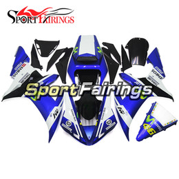 Carenagens Para Yamaha YZF1000 R1 YZF-R1 Ano 2002 2003 02 03 Plásticos ABS Motocicleta Carenagem Kit Carroçaria Moto Cowling Movistar Vale 46 de