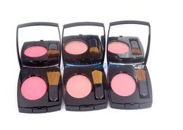 Wholesale Blush Color Palette - 1Pcs Brand Makeup Blush Jouse Rose Bronze Powder Blush Palette 8 Different Color 4G With Brush High Quality Free Shipping Fashion Comestics