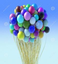 2019 boa de pena branca 33 * 21.5 cm 100% Balão De Látex tamanho grande para Promoção de casamento de balão de natal DHL grátis transporte rápido