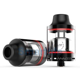 Wholesale Mega Wholesale China - China Supplier Most popular RTA Coilart Mega RTA Clone 3.5ml Capacity 24mm with Replacement Glass Tube with fast DHL UPS shipping