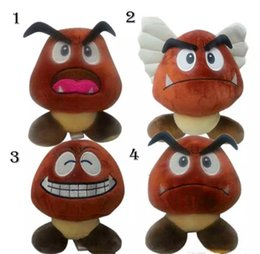 Wholesale Goomba Doll - Plush Toys Super Mario Doll Brown Goomba Stuffed Animal Plush Doll Toy New With Tag 15cm