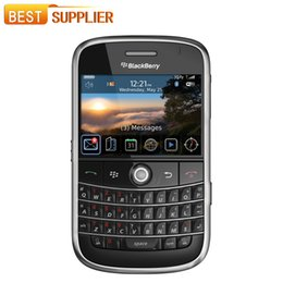 Wholesale Blackberry Bold Back - 2016 Time-limited Special Offer Color Normal(>10mm) Bar Original Unlocked Blackberry 9000 Bold Mobile Phone Gps Wifi 3G Cell phone